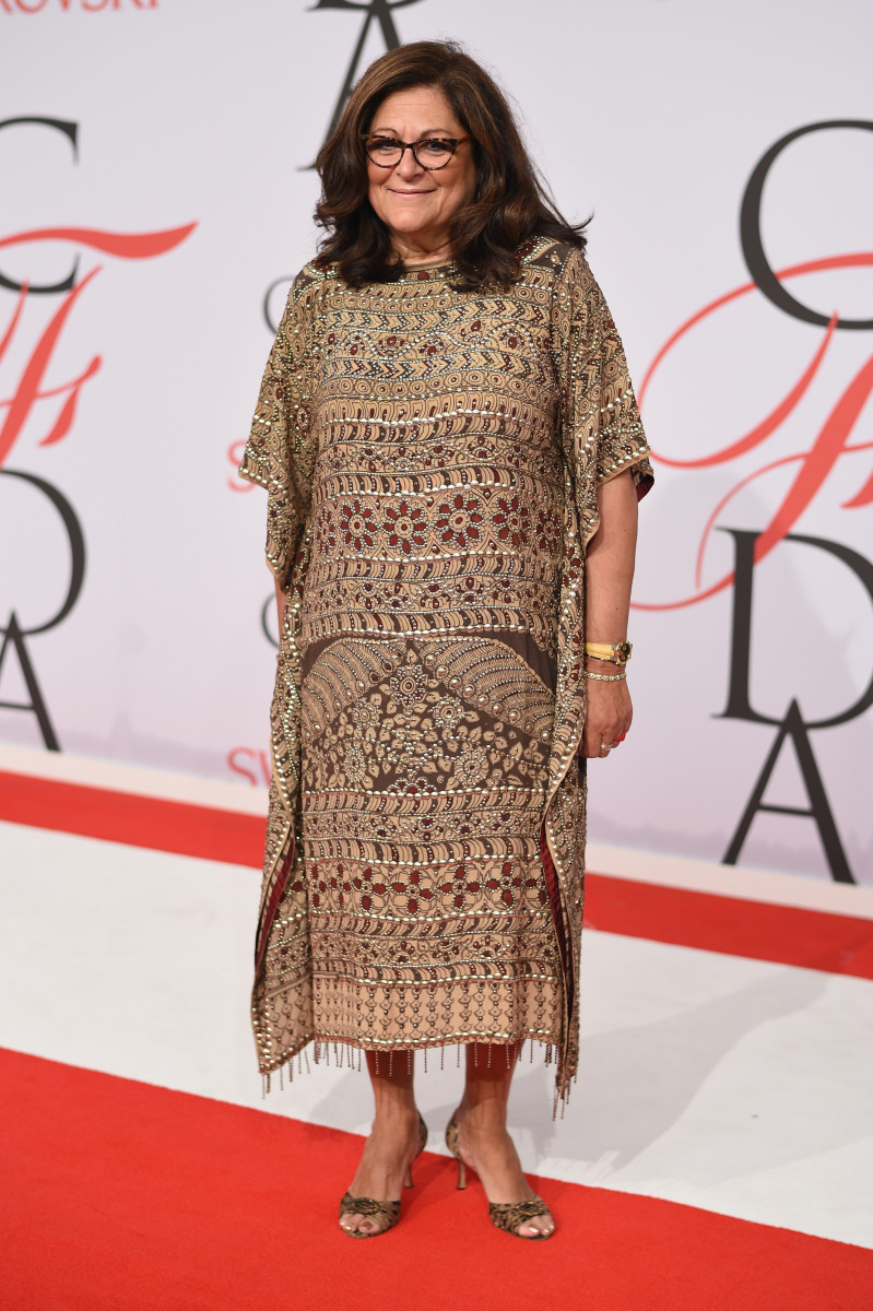 Fern Mallis at the 2015 CFDA Fashion Awards in New York. Photo: Andrew H. Walker/FilmMagic
