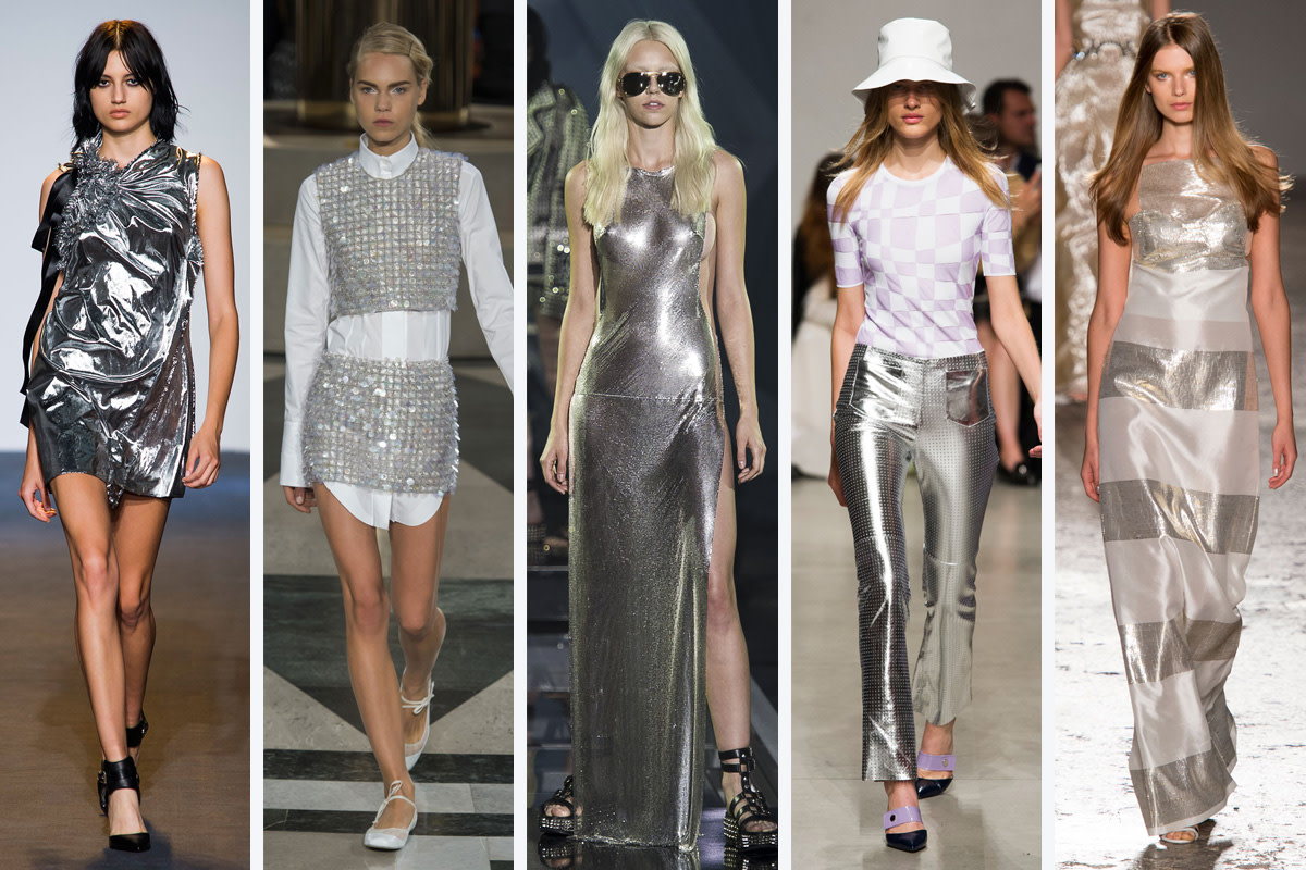 From left to right: Costume National, Aquilano.Rimondi, Philipp Plein, Iceberg, and Genny
