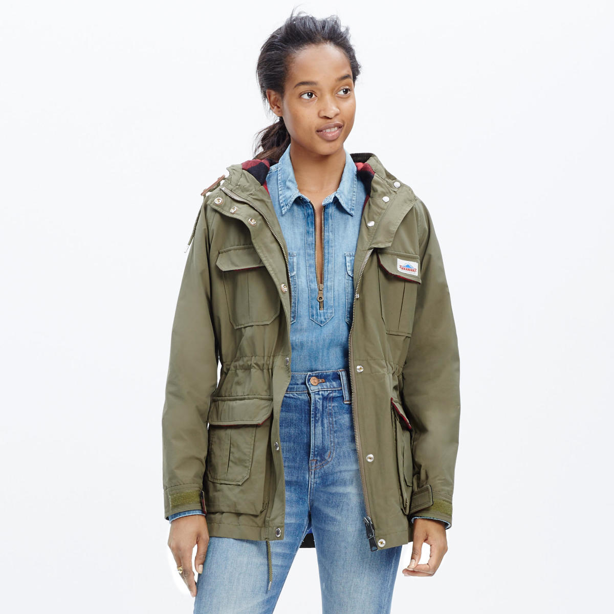 Madewell & Penfield parka, $200, available at Madewell.