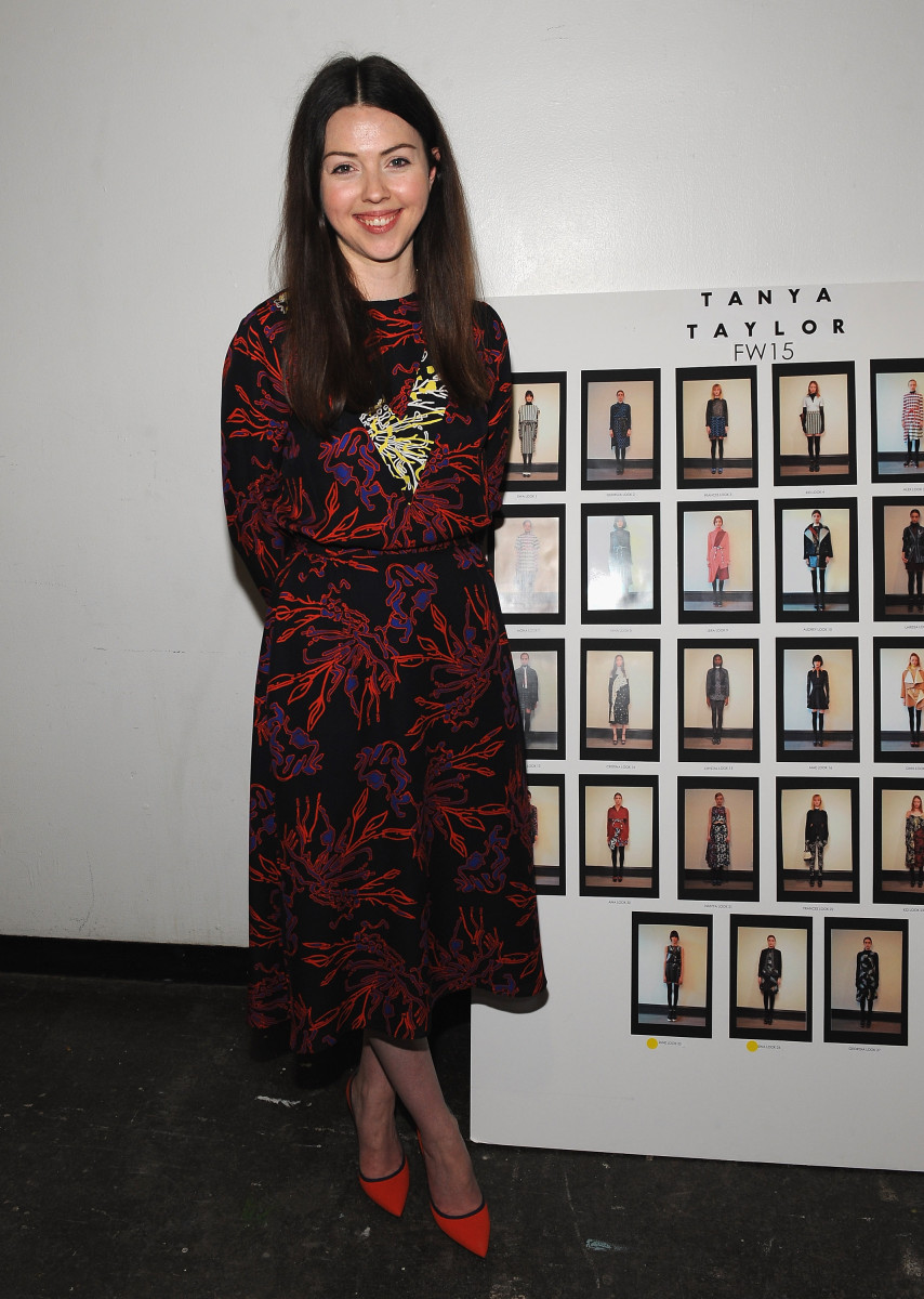 Tanya Taylor at her fall 2015 show. Photo: Fernando Leon/Getty Images