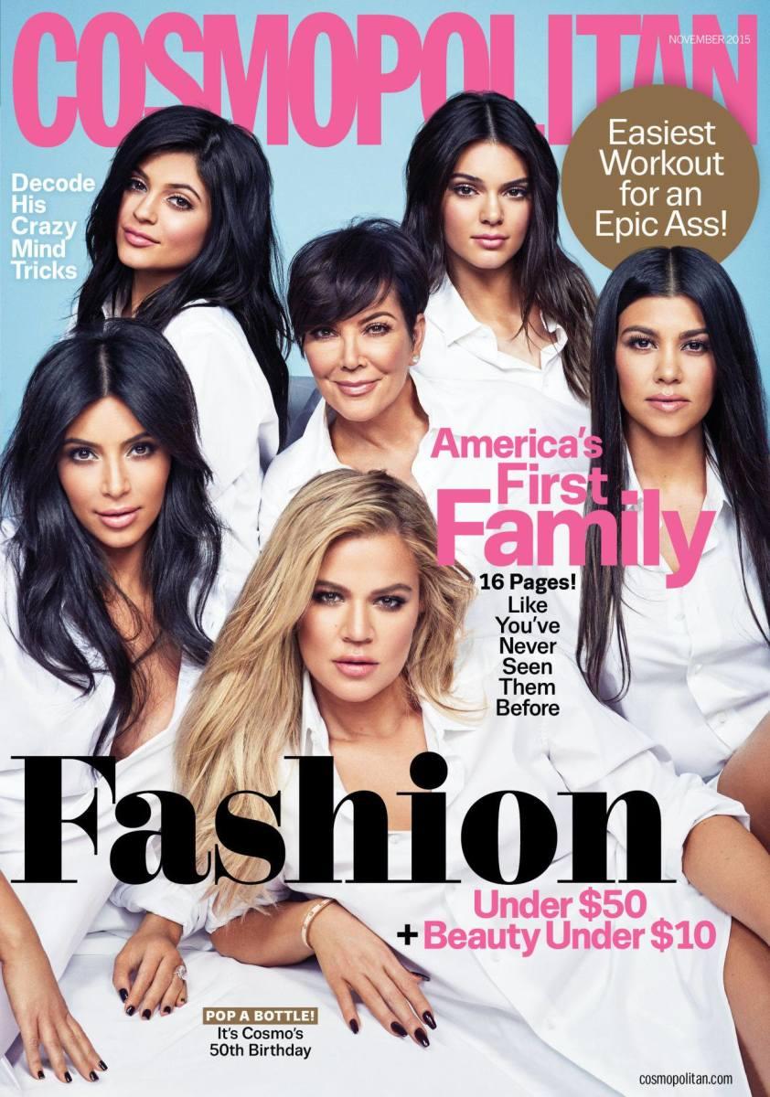 Cosmopolitan's November 2015 issue. Photo: Cosmopolitan