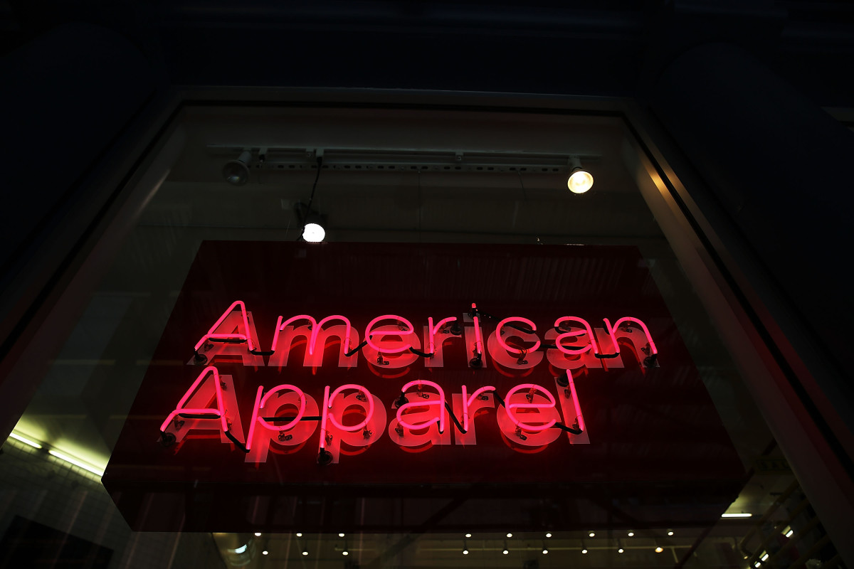 An American Apparel store in New York. Photo: Spencer Platt/Getty Images