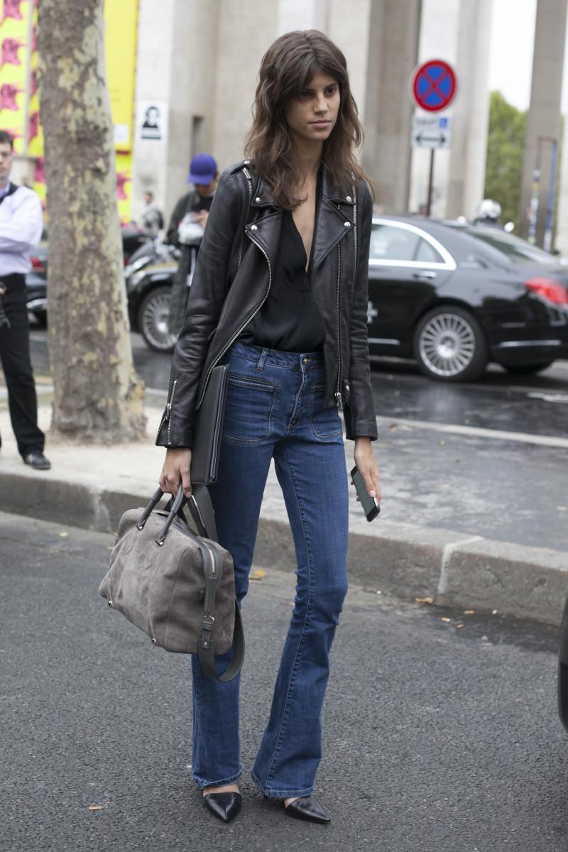 Model Antonina Petkovic. Photo: Emily Malan/Fashionista