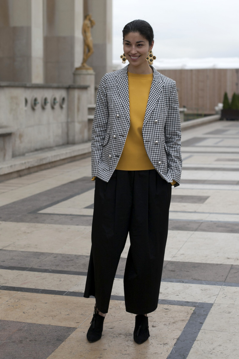 Caroline Issa. Photo: Emily Malan/Fashionista