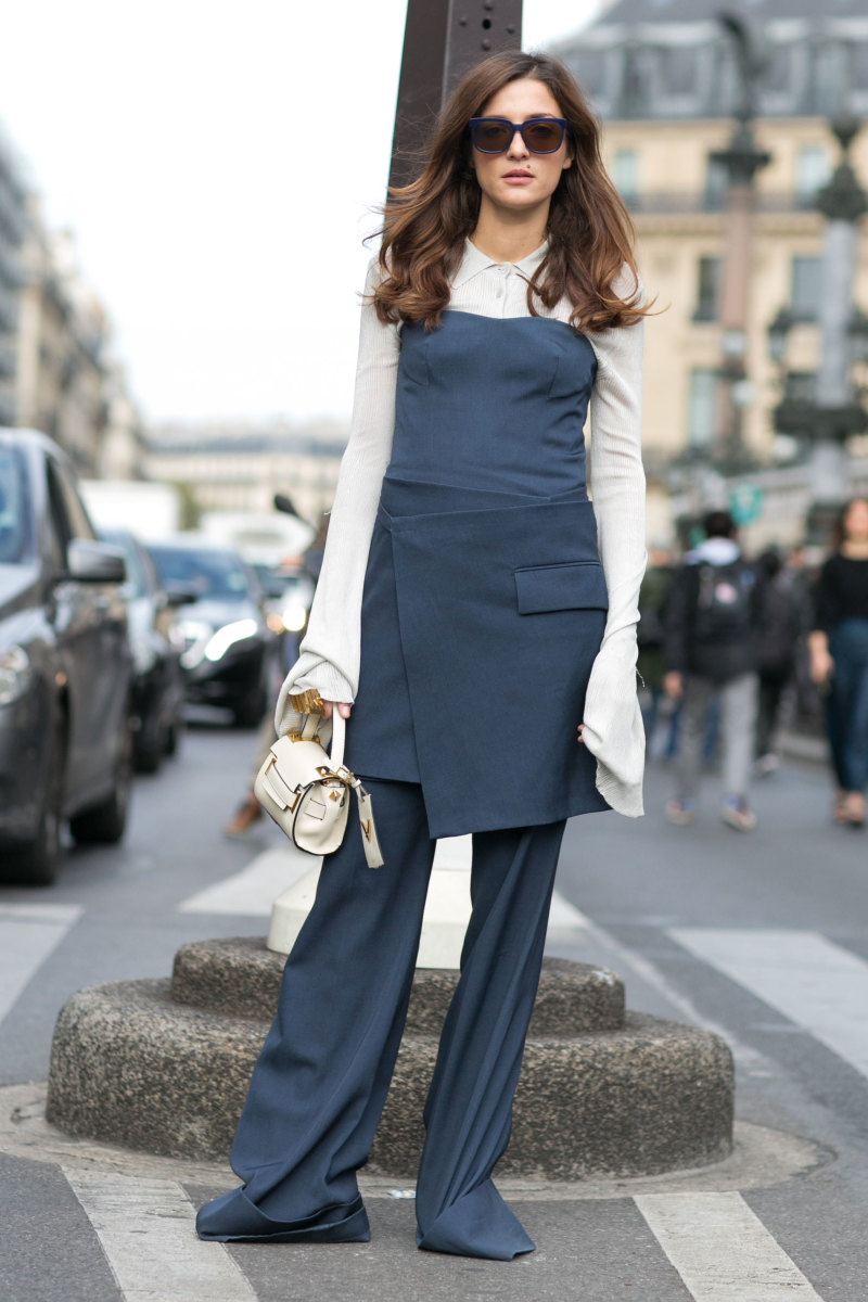 Blogger Eleanora Carisi in Stella McCartney. Photo: Imaxtree