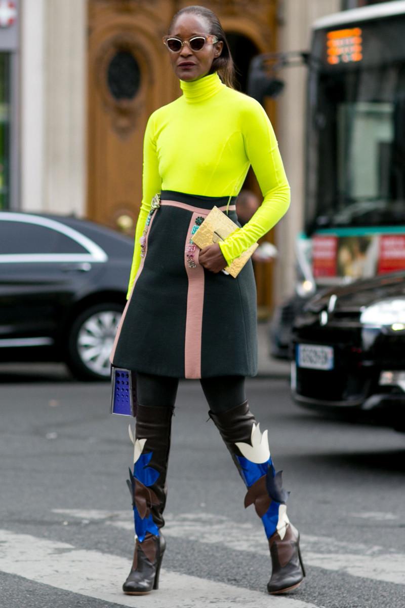 Designer Michelle Elie. Photo: Imaxtree