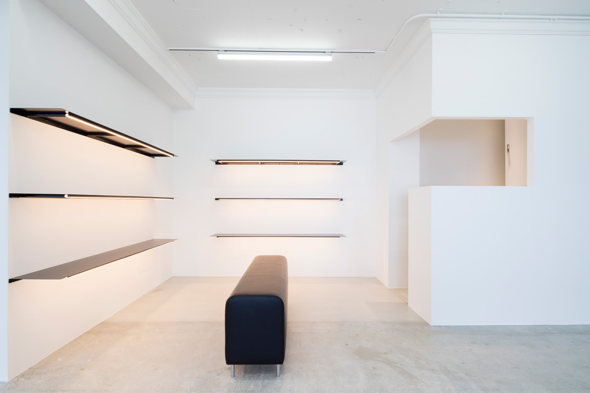 Inside Need Supply's (empty) Shibuya store. Photo: Need Supply Co.