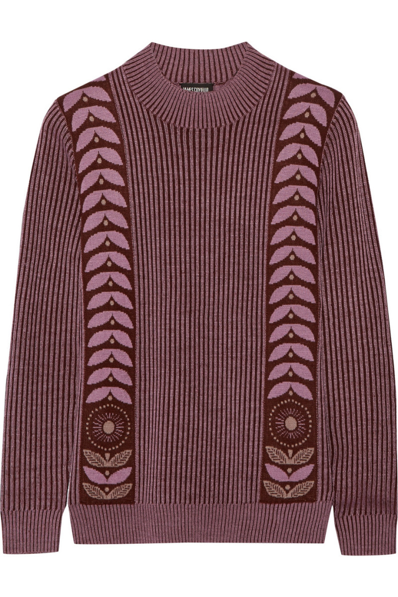 Anna Sui wool-blend sweater, $310, available at Net-a-Porter.