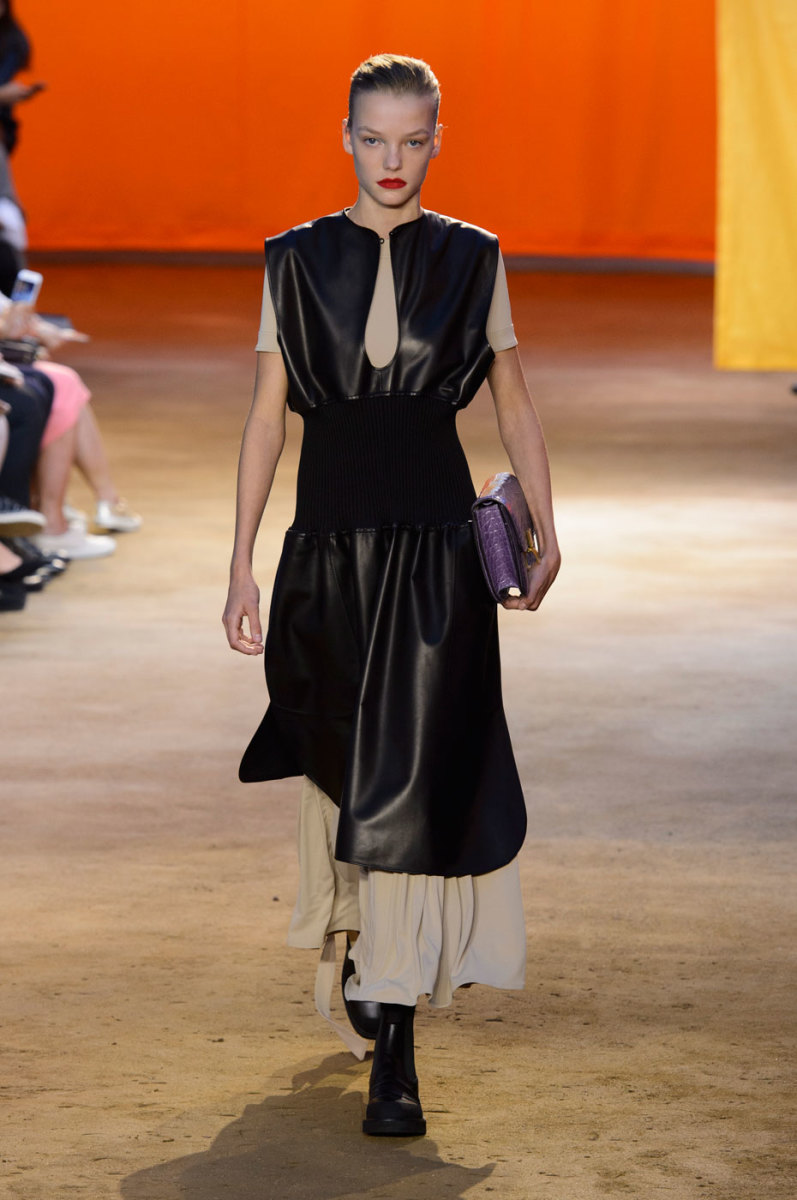 A look from Céline's spring 2016 collection. Photo: Imaxtree