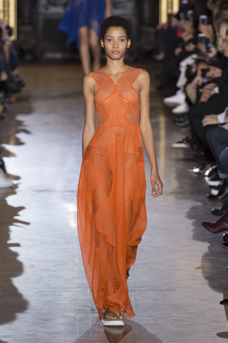 A look from Stella McCartney's spring 2016 collection. Photo: Imaxtree