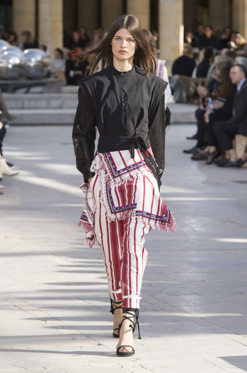 A look from Isabel Marant's spring 2016 collection. Photo: Imaxtree