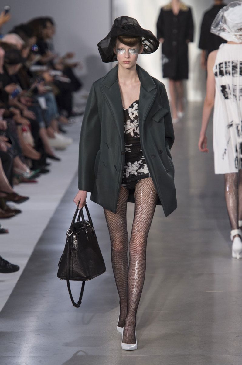 A look from Maison Margiela's spring 2016 collection. Photo: Imaxtree