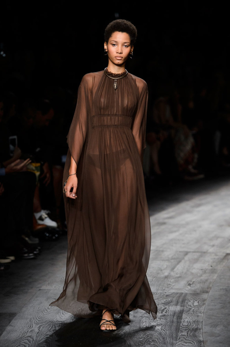 A look from Valentino's spring 2016 collection. Photo: Imaxtree