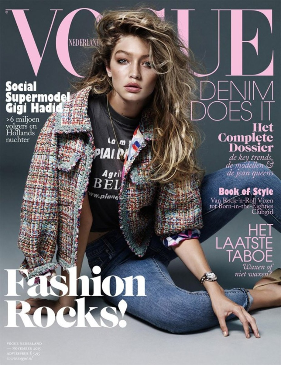Gigi Hadid. Photo: Alique/Vogue Netherlands