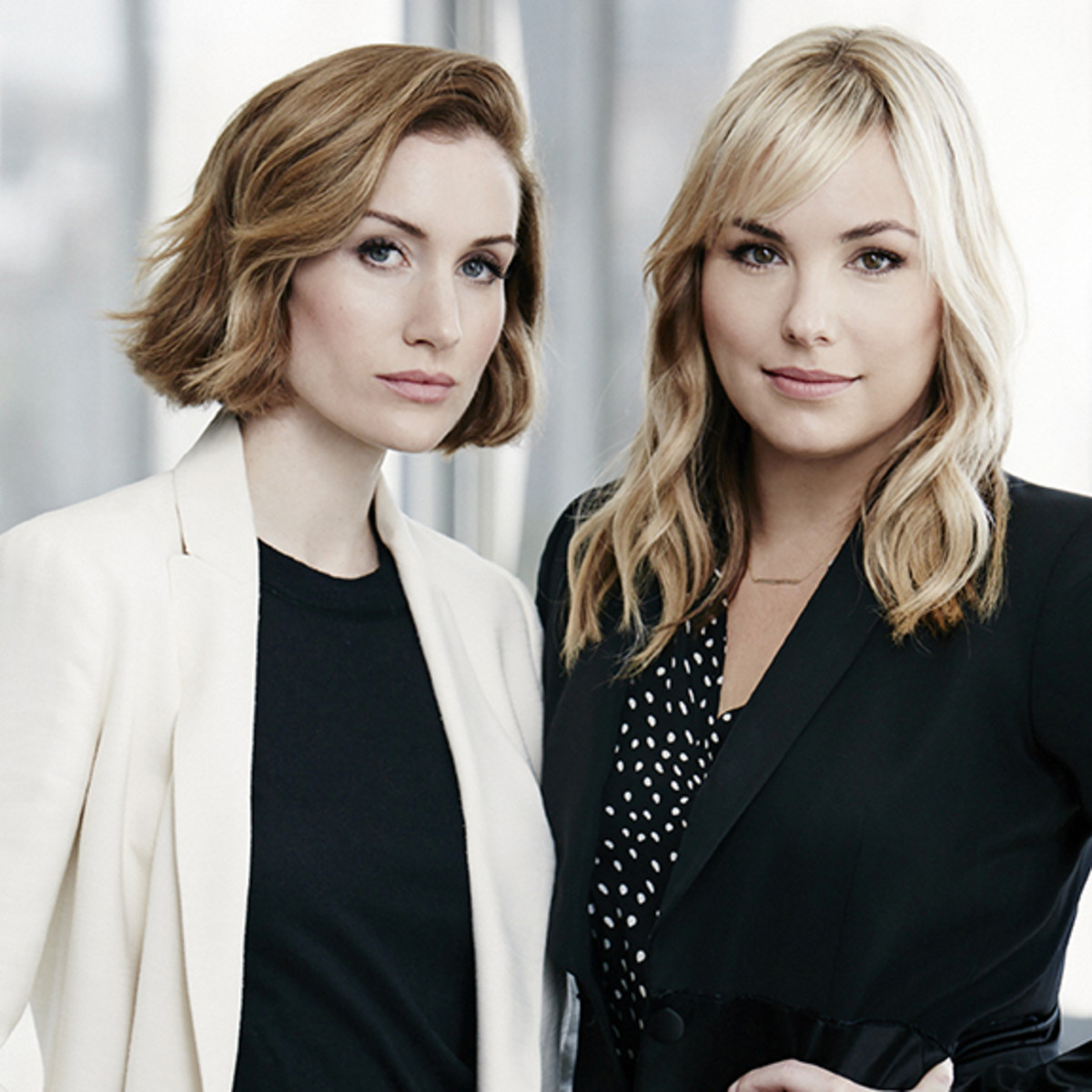Clique Media Group co-founders and co-CEOs Katherine Power and Hillary Kerr. Photo: Target