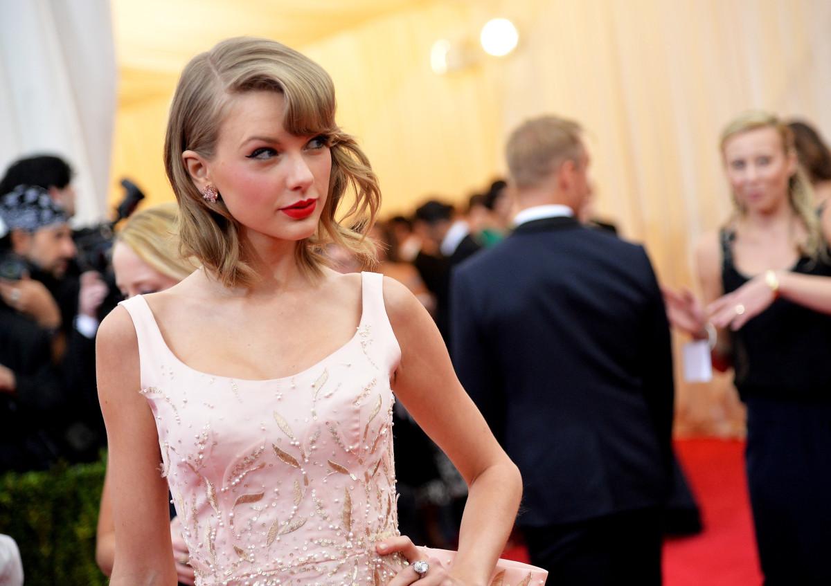Taylor Swift in Oscar de la Renta at the 2014 Met Gala. Photo: Mike Coppola/Getty Images