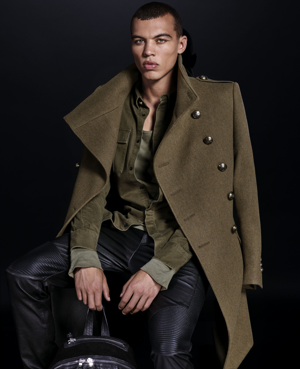 A look from the Balmain x H&M collection. Photo: H&M