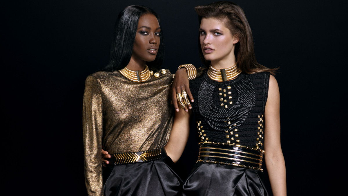 d4d27e13e83 The Full Balmain x H&M Look Book is Here, Officially - Fashionista