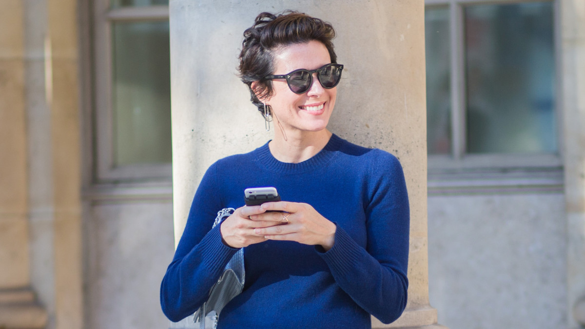 Garance Dore Short Hair Image Of Short Hair And Long Hair