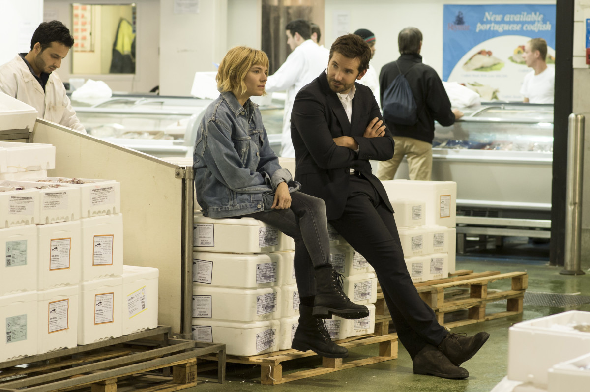 Sienna Miller as Helene, who looks very Sienna Miller, and Bradley Cooper as Adam Jones in 'Burnt.' Photo: Weinstein Company