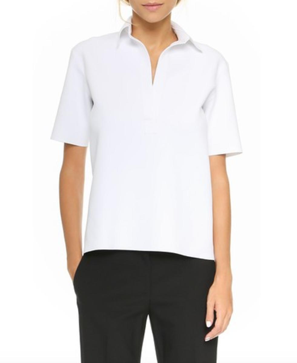 Marias Not So Preppy Polo Shirt Fashionista