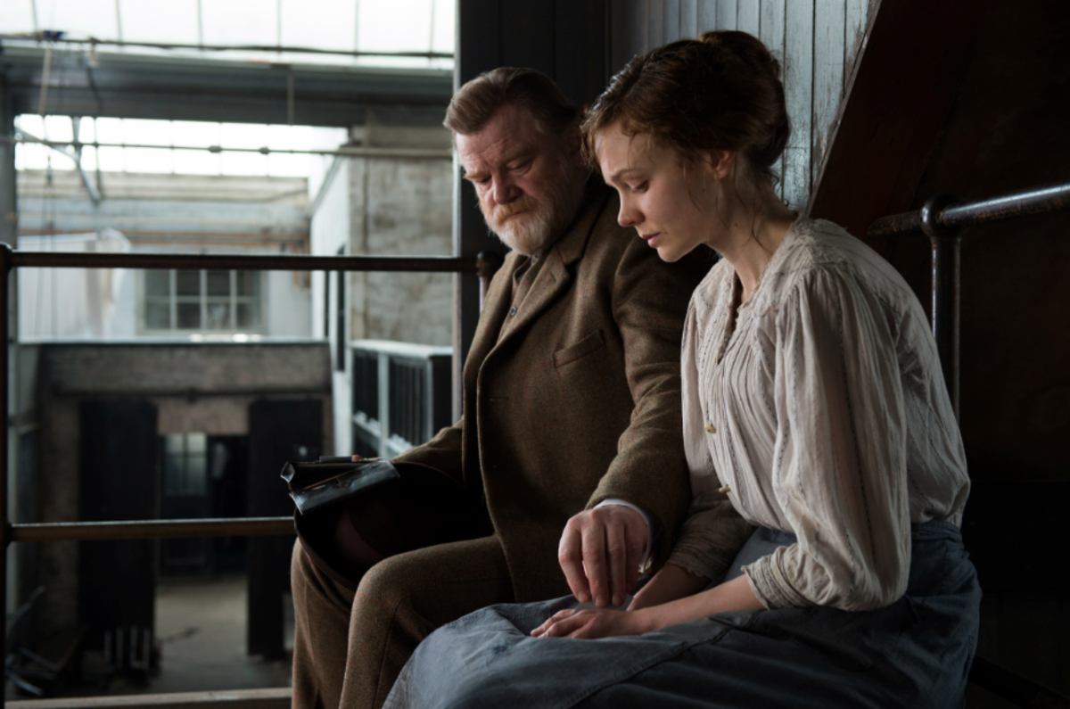 Brendan Gleeson and Carey Mulligan. Photo: Focus Films