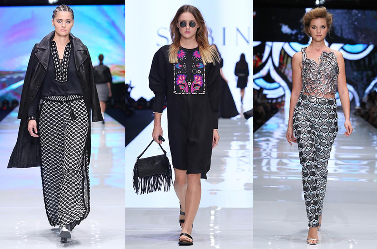 Models on the runway at Tel Aviv Fashion Week. Photos: Tel Aviv Fashion Week