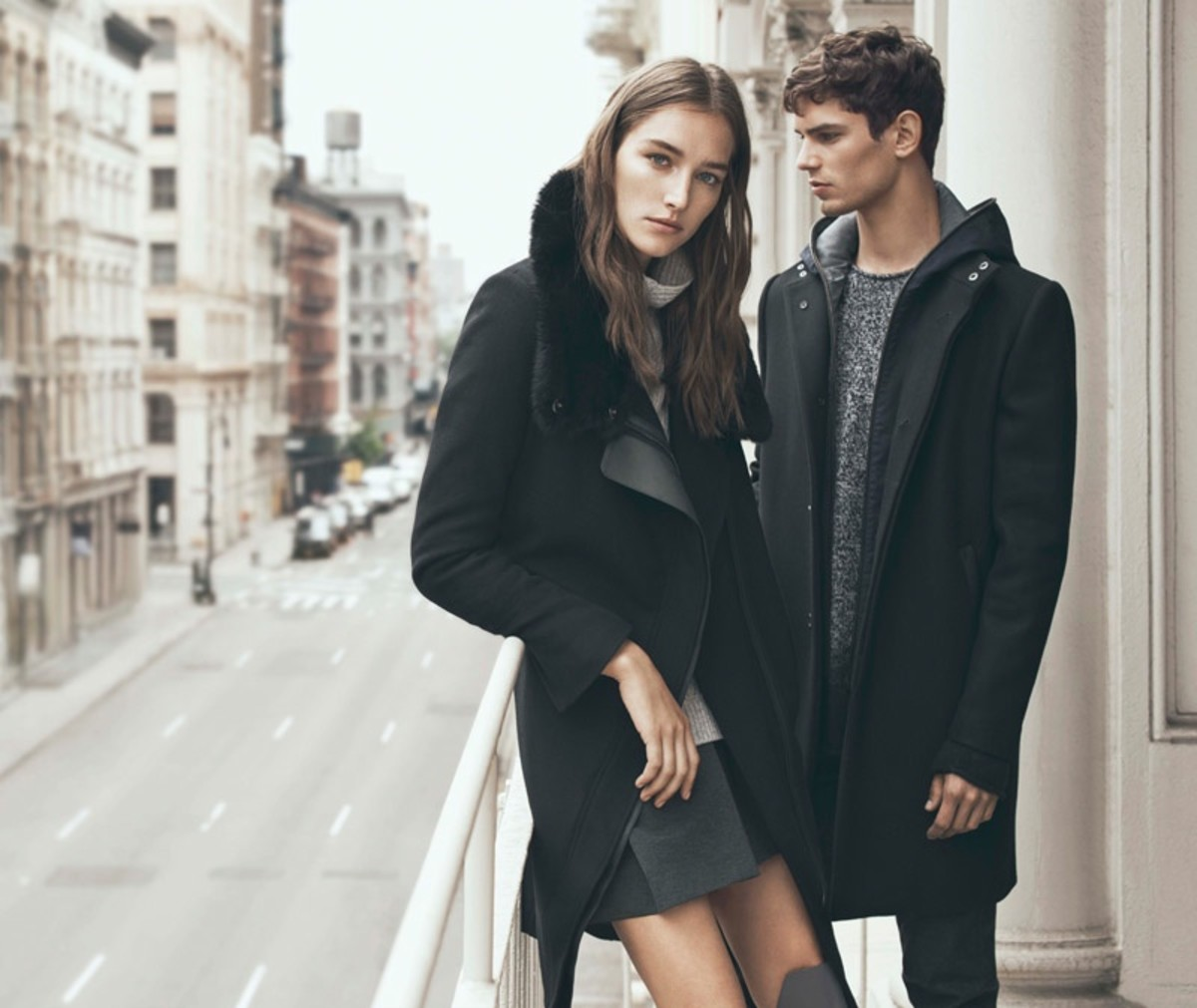Vince's fall 2015 campaign. Photo: Vince