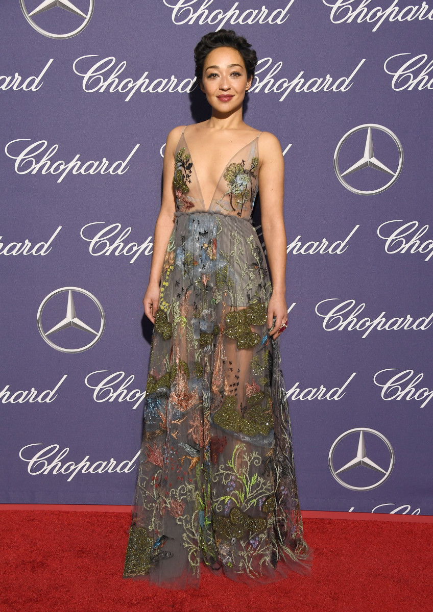 Ruth Negga Is Absolutely Ethereal in This Whimsical Valentino Gown ...