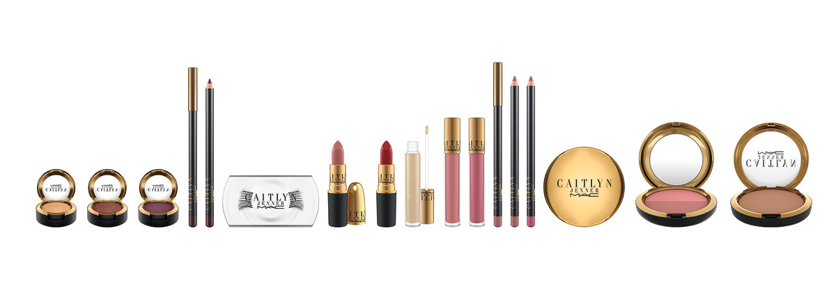 The new MAC x Caitlyn Jenner collection. Photo: MAC