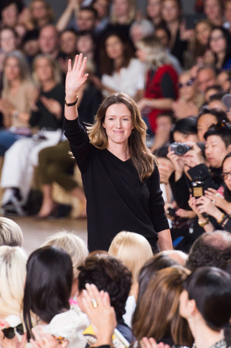 Chloé designer Claire Waight Keller. Photo: Imaxtree