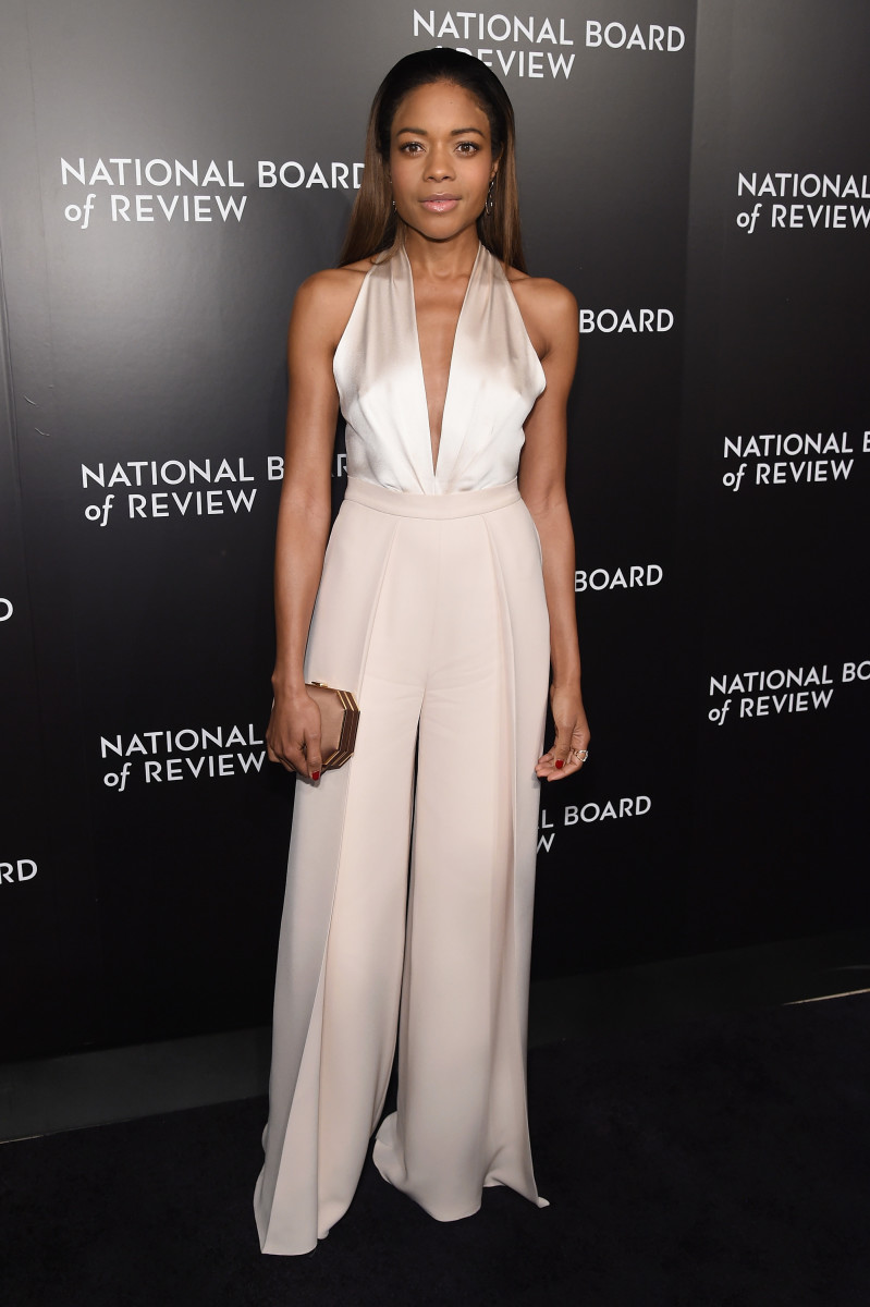 Naomie Harris in Brandon Maxwell at the 2016 National Board of Review Gala on Wednesday in New York City. Photo: Jamie McCarthy/Getty Images