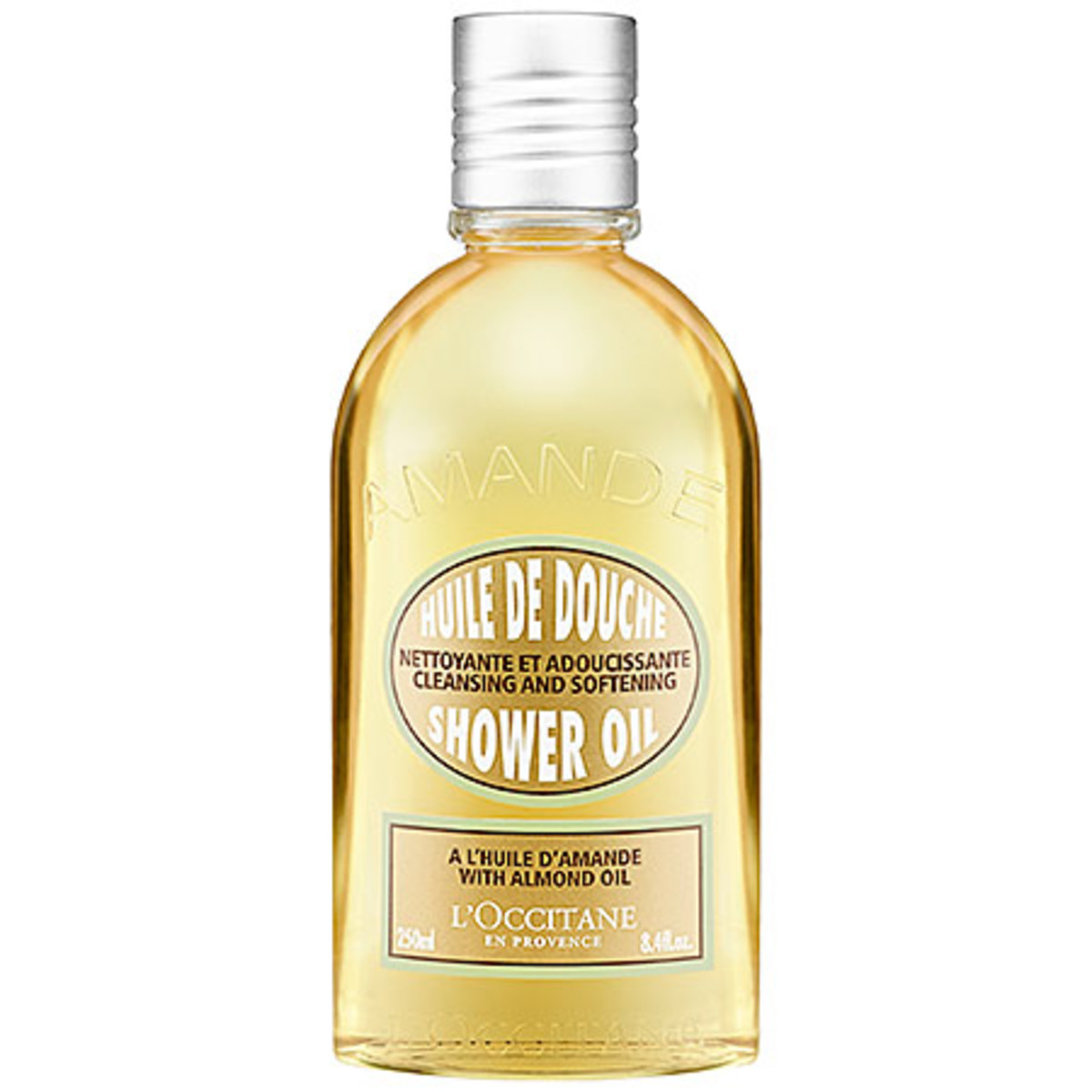 L'Occitane Cleansing and Shower Oil With Almond Oil, $25, available at Sephora.