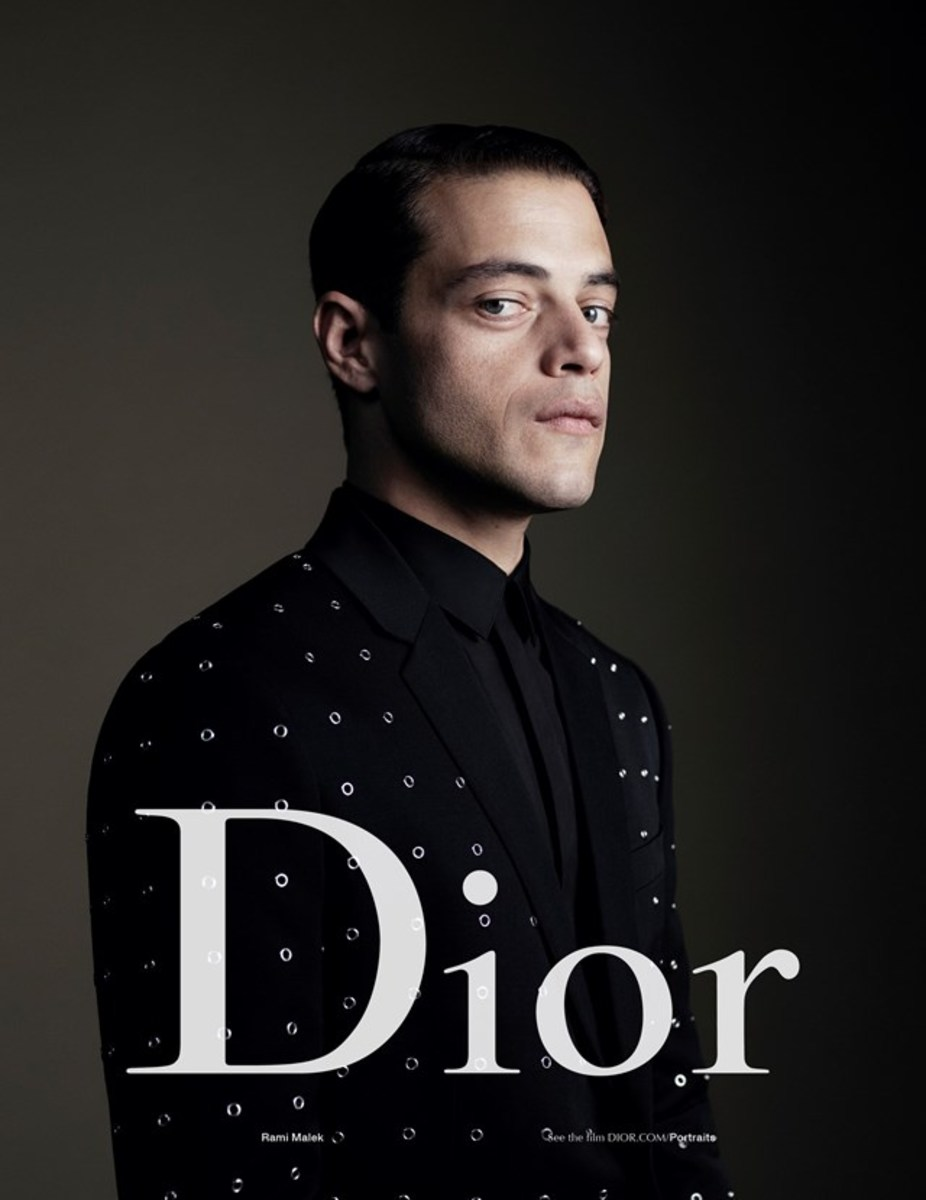 Rami Malek for Dior Homme's spring 2017 campaign. Photo: Willy Vanderperre