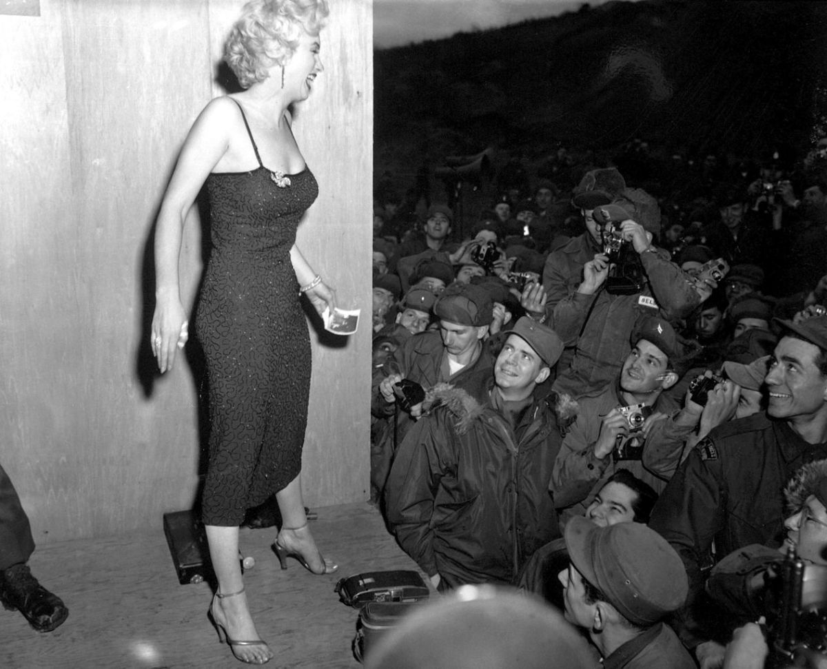 Marilyn Monroe in 1954. Photo: Wikipedia Commons
