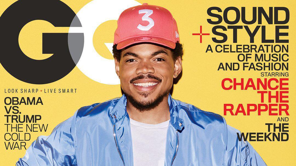 Chance the Rapper and His  3  Cap Get the  GQ  Cover They Deserve -  Fashionista 9a4bfbf356a4