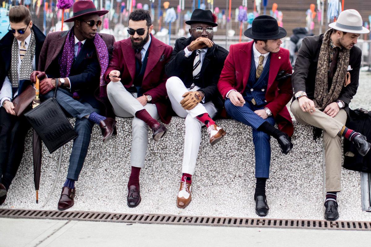 Lads, lads, lads. Photo: Imaxtree