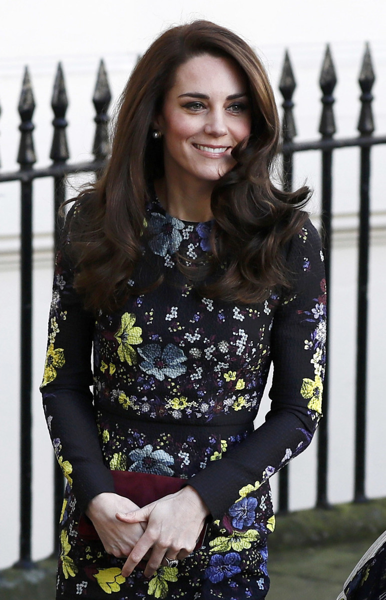 Kate Middleton in Erdem for a public appearance on Tuesday. Photo: WPA Pool/Getty Images