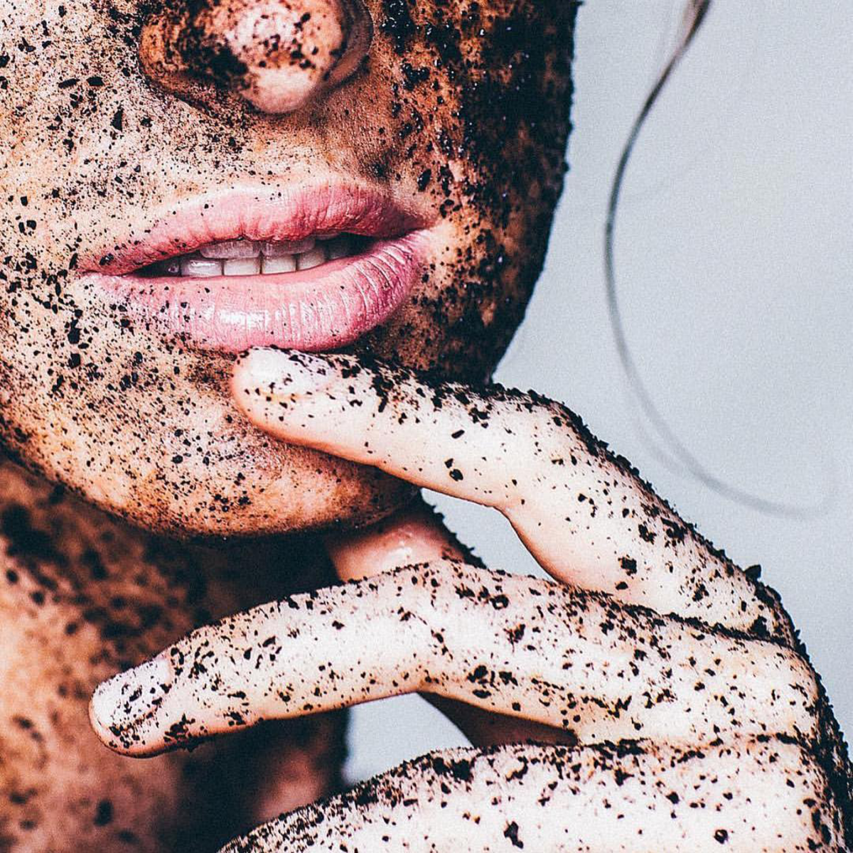 Frank Body's Original Coffee Scrub in action. Photo: Instagram/@frank_bod