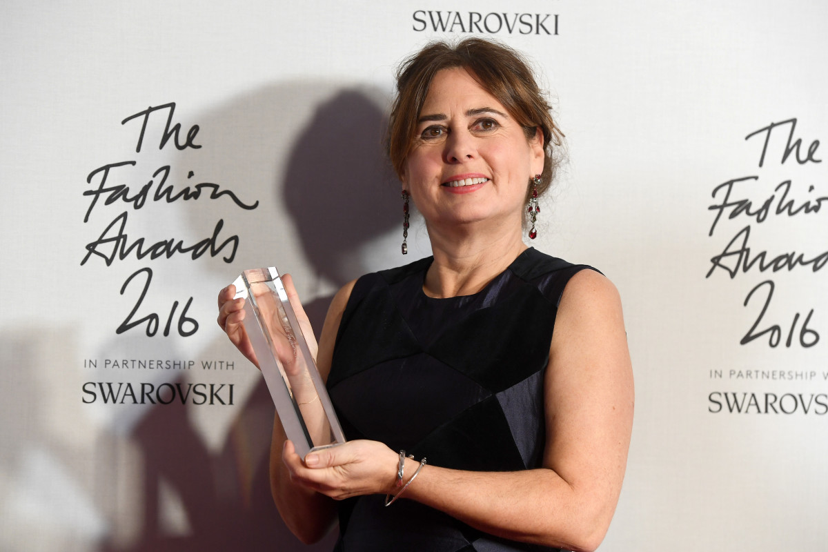 Alexandra Shulman at The Fashion Awards 2016 at Royal Albert Hall on Dec. 5, 2016 in London. Photo: Stuart C. Wilson/Getty Images