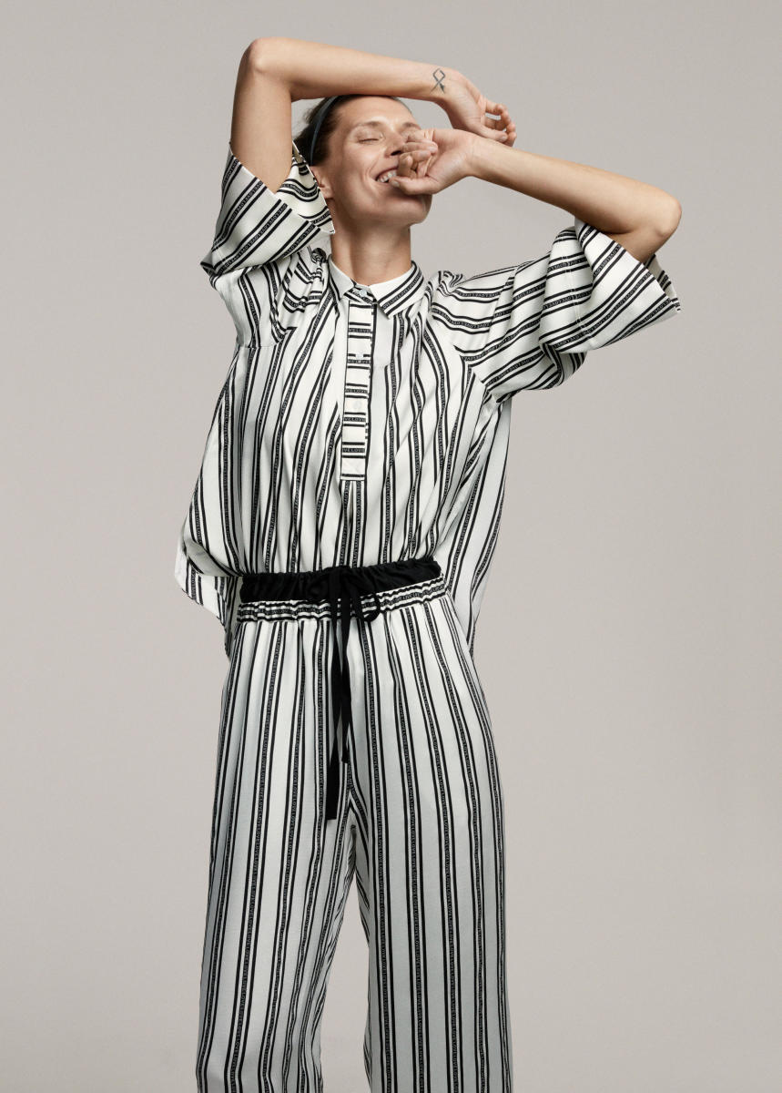 A look from H&M Studio's instantly shoppable spring 2017 collection. Photo: H&M