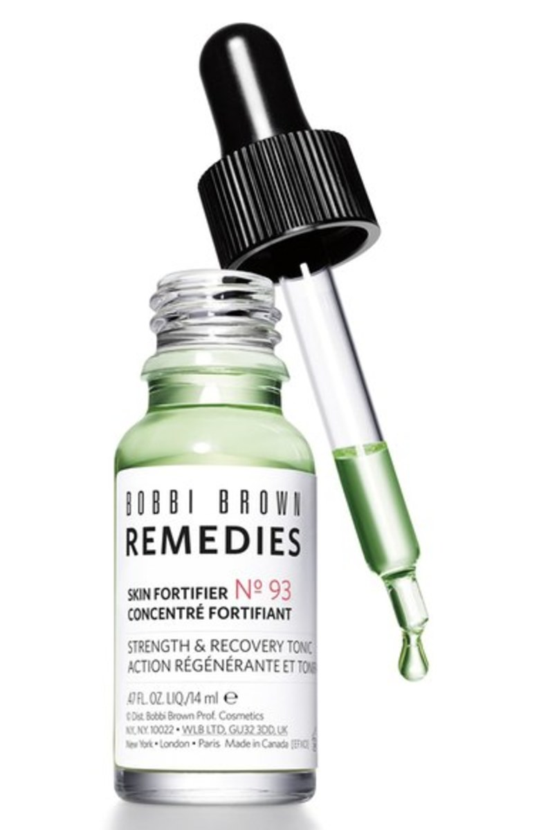 Bobbi Brown Remedies Skin Fortifier No. 93, Strength & Recovery Tonic, $45, available at Nordstrom. Photo: Courtesy of Bobbi Brown