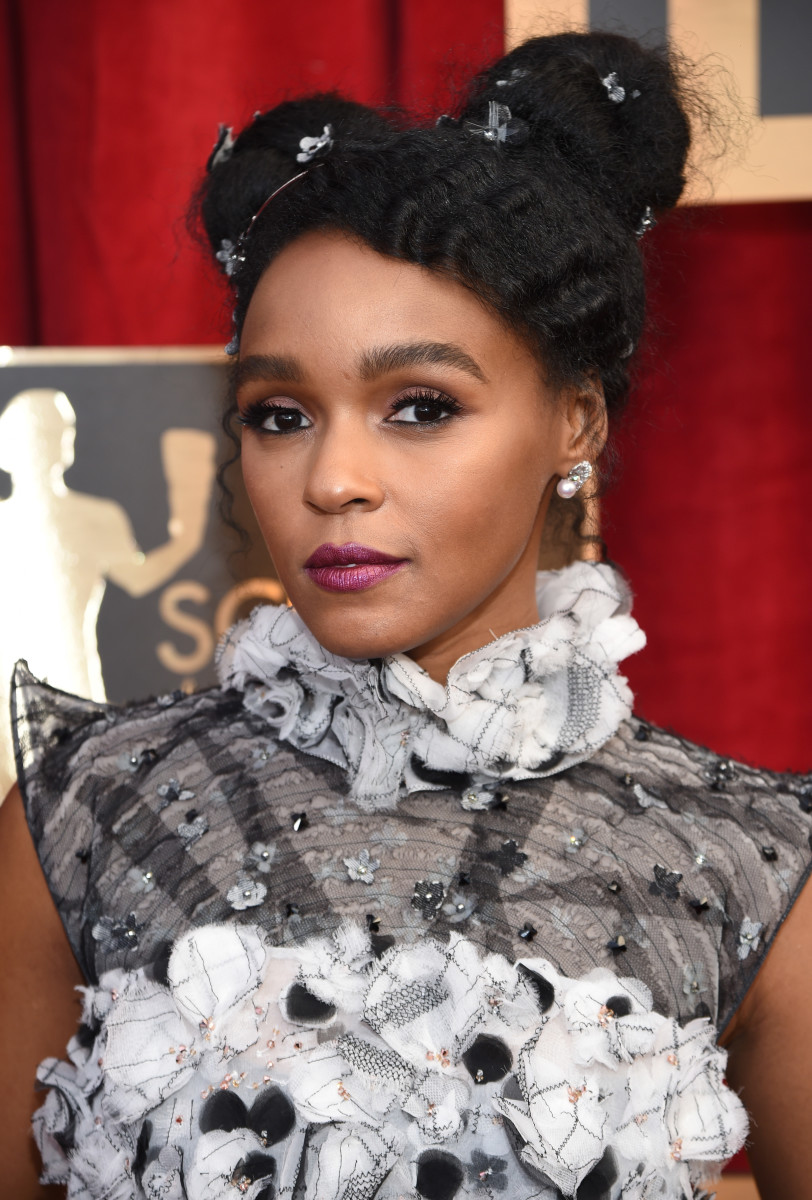 Janelle Monáe at the 2017 Screen Actors Guild Awards. Photo: Dimitrios Kambouris/Getty Images