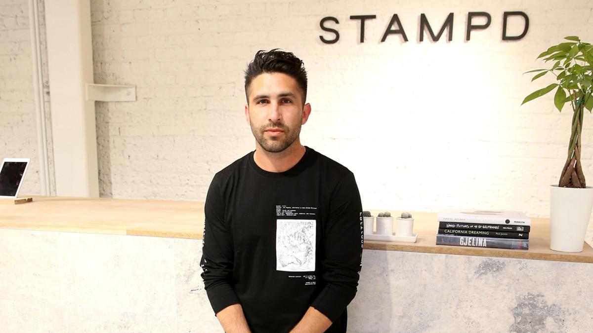 Chris Stamp Fashion Designer