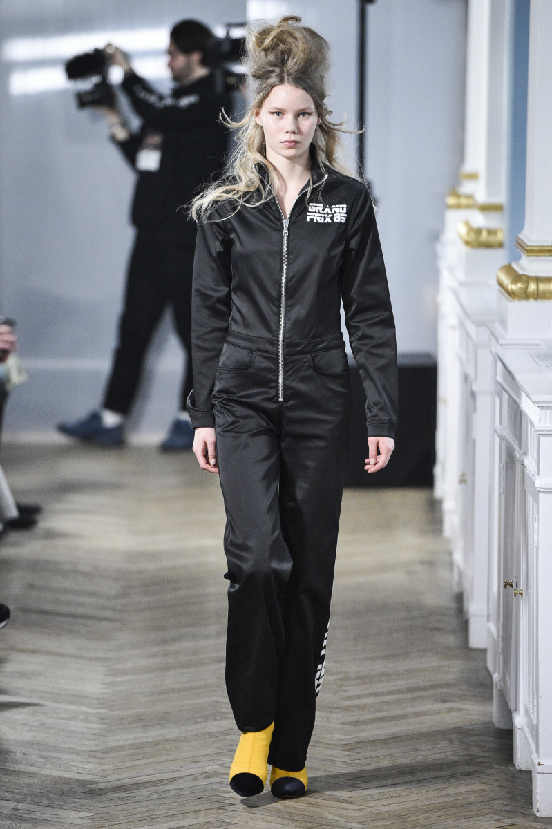 A look from Won Hundred's fall 2017 collection. Photo: CPHFW
