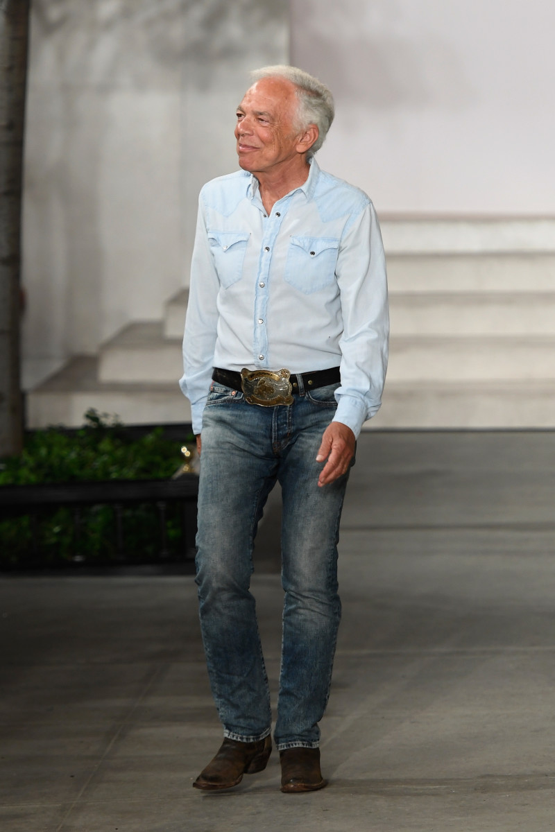 Ralph Lauren. Photo: Slaven Vlasic/Getty Images for New York Fashion Week: The Shows