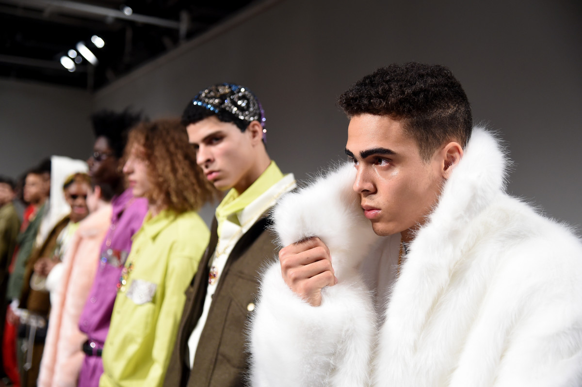Landlord's fall 2017 presentation.Photo:Jamie McCarthy/Getty Images
