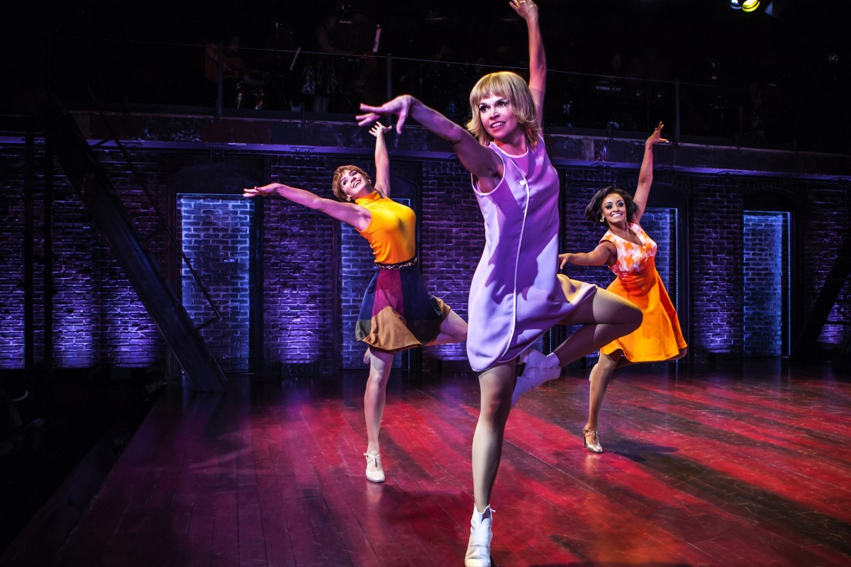 Sutton Foster (middle) in 'Sweet Charity.' The costumes by Clint Ramos were inspired by a 'grittier, more real agenda' for the revival. Photo: Monique Carboni