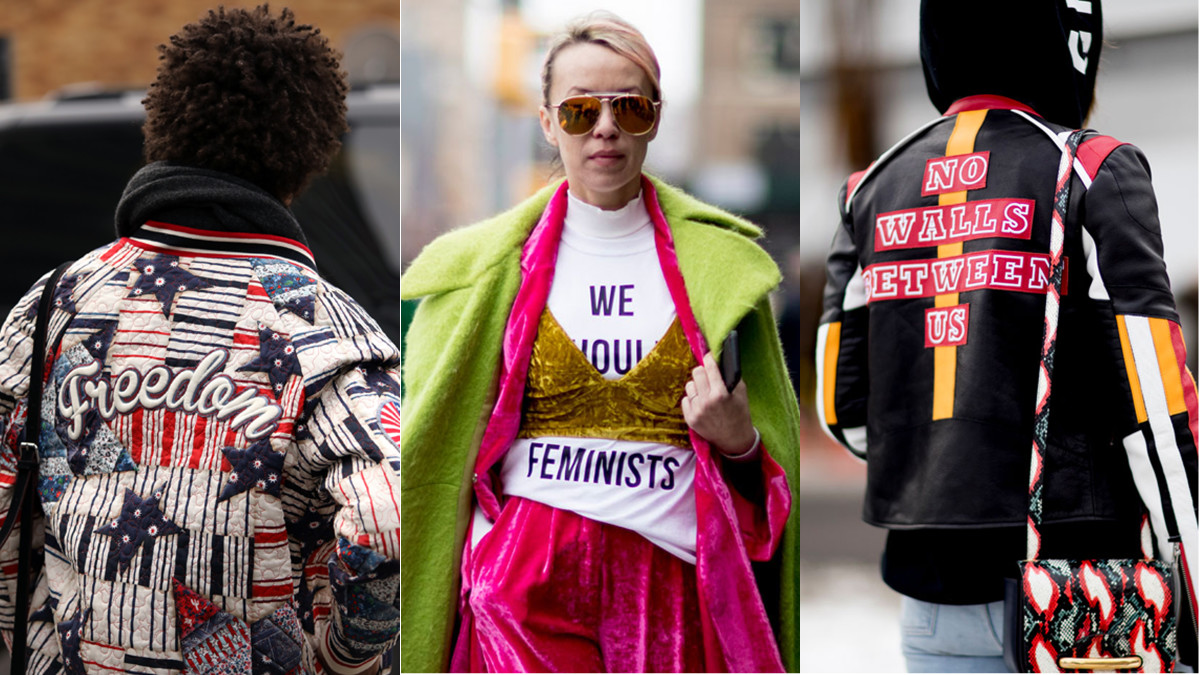 Hear that, Trump? Photo: Angela Datre/Fashionista, Imaxtree (2)