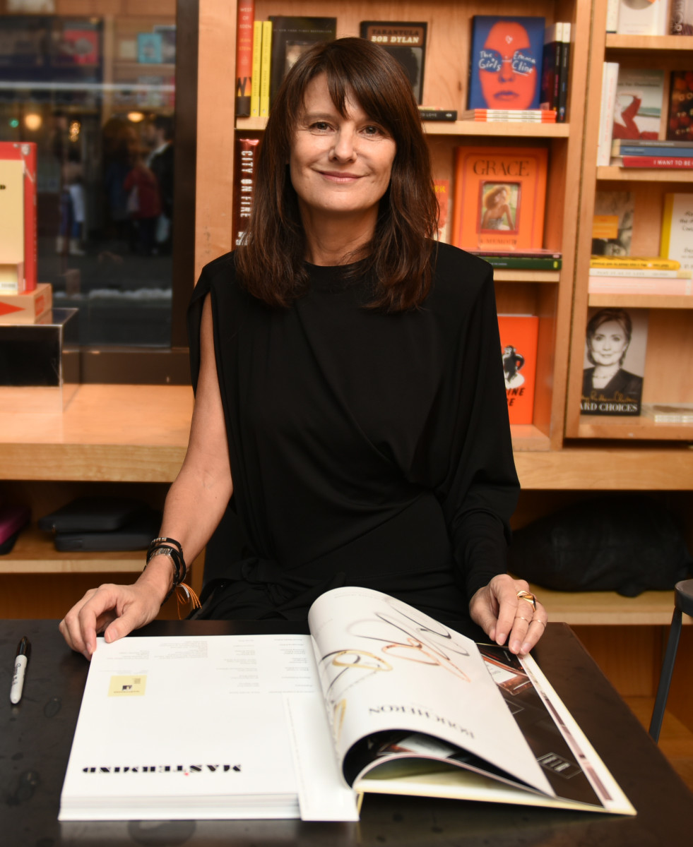 Marie-Amélie Sauvé at a signing of her magazine 'Mastermind' at BookMarc. Photo: Courtesy